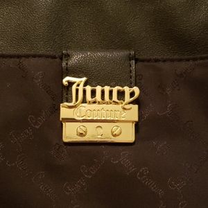 NEW black and gold Juicy Couture purse